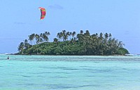Parasailing at Muri